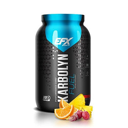 EFX Sports Karbolyn Fuel | Pre, Intra, Post Workout Carbohydrate Supplement Powder | Carb Load, Energize, Improve & Recover Faster | Easy to Mix | Fruit Punch (4 LB 4.8 OZ)