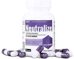 Neutralize Hangover Prevention Pills | Hangover Pills for an Easy Morning Recovery | Fast Alcohol Metabolism and Acetaldehyde Elimination Support