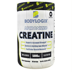 Bodylogix Micronized Creatine Unflavored - Gluten Free, Bodylogix - Wholesome Dynamics