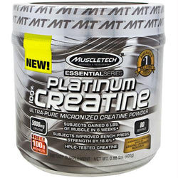 Muscletech Essential Series Platinum Creatine Unflavored, Muscletech - Wholesome Dynamics