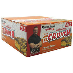 Fit Crunch Bars Fit Crunch Bar Peanut Butter, Fit Crunch Bars - Wholesome Dynamics