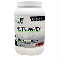 Nf Sports Nutriwhey Strawberry - Gluten Free, Nf Sports - Wholesome Dynamics