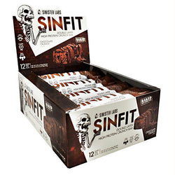 Sinister Labs Sinfit Bar Chocolate Crunch - Gluten Free, Sinister Labs - Wholesome Dynamics