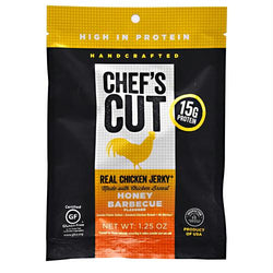 Chef's Cut Real Jerky Real Chicken Jerky Honey Barbecue - Gluten Free, Chef's Cut Real Jerky - Wholesome Dynamics
