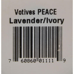 Aloha Bay Votive Candle - Peace - Case Of 12 - 2 Oz