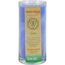 Aloha Bay Chakra Candle Jar Positive Energy - 11 Oz