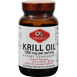 Olympian Labs Krill Oil - 1000 Mg - 60 Softgels