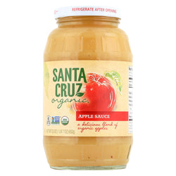Santa Cruz Organic Apple Sauce - Case Of 12 - 23 Oz.