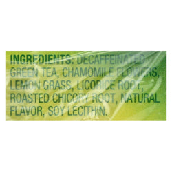 Lipton Decaffeinated Honey Lemon Green Tea  - Case Of 6 - 20 Ct