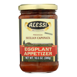 Alessi - Eggplant Appetizer - Caponata - Case Of 12 - 10.5 Oz.