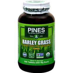 Pines International Barley Grass - 500 Mg - 500 Tablets