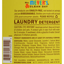 Mrs. Meyer's Clean Day - 2x Laundry Detergent - Baby Blossom - 64 Oz