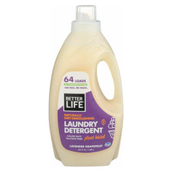 Better Life Laundry Detergent - Lavender Grapefruit - Case Of 4 - 64 Fl Oz