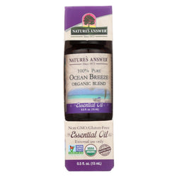 Nature's Answer - Organic Essential Oil Blend - Ocean Breeze - 0.5 Oz.