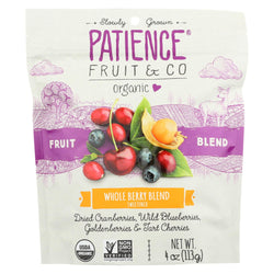 Patience Fruit And Co - Whole Berry Blend Mixed Berries - Case Of 8 - 4 Oz
