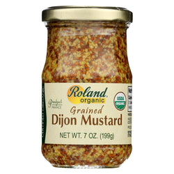 Roland Products - Mustard Dijon Grained - Case Of 12 - 7 Oz