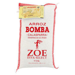 Zoe - Bomba Rice - Case Of 10 - 17.5 Oz.