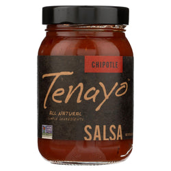 Tenayo - Salsa - Chipoltle - Case Of 6 - 16 Oz.