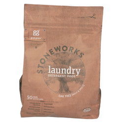 Stoneworks Laundry Detergent Pods - Oak Tree - Case Of 6 - 50 Count