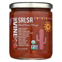 The Vine - Black Bean Mango Salsa - Medium - Case Of 6 - 16 Oz.