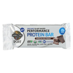 Garden Of Life - Sport Protein Bar - Chocolate Fudge - Case Of 12 - 2.7 Oz