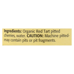 Omena Organics Tart Cherry - Organic - Pitted In Water - Case Of 12 - 14.5 Oz