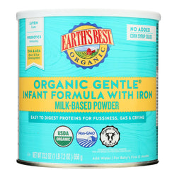 Earth's Best - Infnt Form Gentl Iron - Case Of 4 - 23.2 Oz