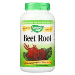 Nature's Way - Beet Root - 320 Veg Capsules