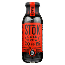 Stok Cold-brew Iced Coffee Cold Brew Coffee - Case Of 12 - 13.7 Fz