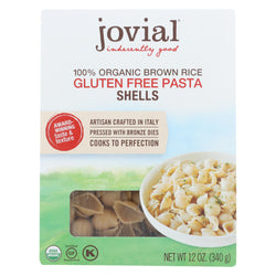 Jovial - Organic Brown Rice Pasta - Shells - Case Of 12 - 12 Oz.