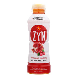 Zyn - Curcumin Drink - Pomegranate Cranberry - Case Of 12 - 16 Fl Oz.