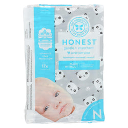 The Honest Company - Diapers Size 0 Newborn - Pandas - 32 Count
