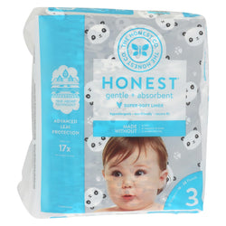 The Honest Company - Diapers Size 3 - Pandas - 27 Count