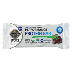 Garden Of Life - Sport Protein Bar Chocolate Mint - Case Of 12 - 2.46 Oz
