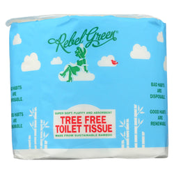 Rebel Green - Tree Free Toilet Tissue - Case Of 40 - Ct