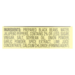 Kuner Black Beans - Case Of 12 - 15 Oz