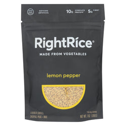 Right Rice - Made From Vegetables - Lemon Pepper - Case Of 6 - 7 Oz.