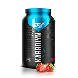 EFX Sports Karbolyn Fuel | Pre, Intra, Post Workout Carbohydrate Supplement Powder | Carb Load, Energize, Improve & Recover Faster | Easy To Mix | Strawberry (4 LB 4.8 OZ)