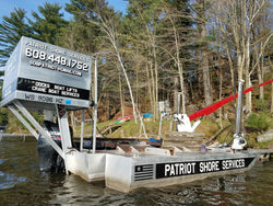 Crane Boat Rental - Repair/Recovery/ Material Delivery/Operations Platform