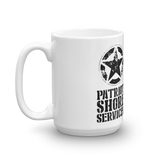 Made in the USA-Patriot Shore Services Coffee Mug 1 Side Image