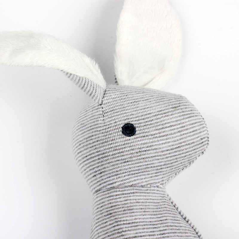 Soft Rabbit Baby Rattle