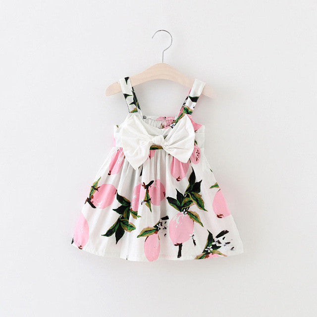 Summertime Twist Print Dress