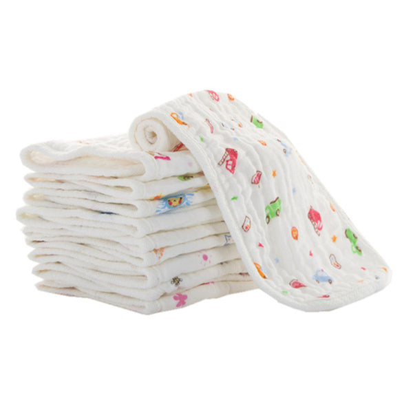 100% Muslin Cotton Burp Cloth