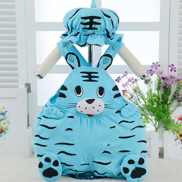 Halloween Baby Costume - Blue Tiger