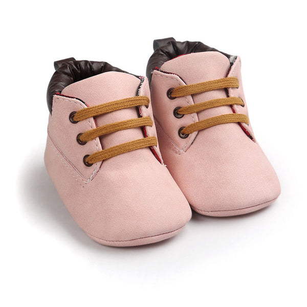 First Walkers Desert Boot - Pink