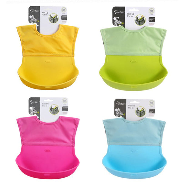 Soft Catch Travel Bibs