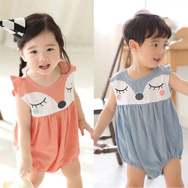 Foxy Baby Girls Romper