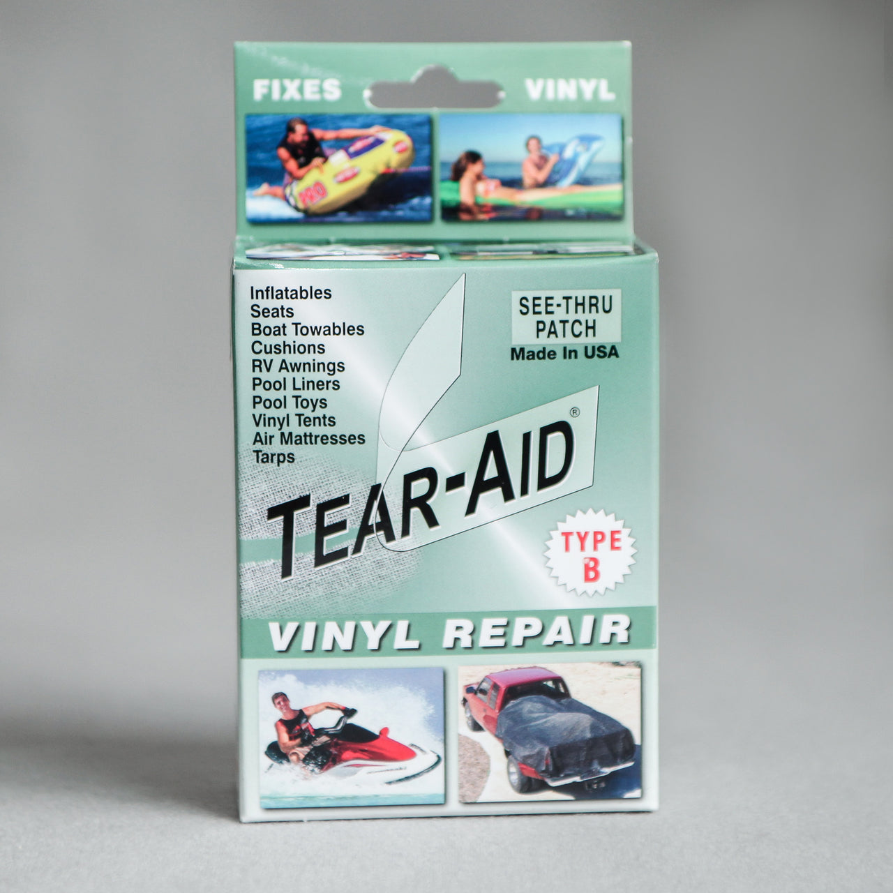 Tear Aid Vinyl Repair Kit Evergreen Softub