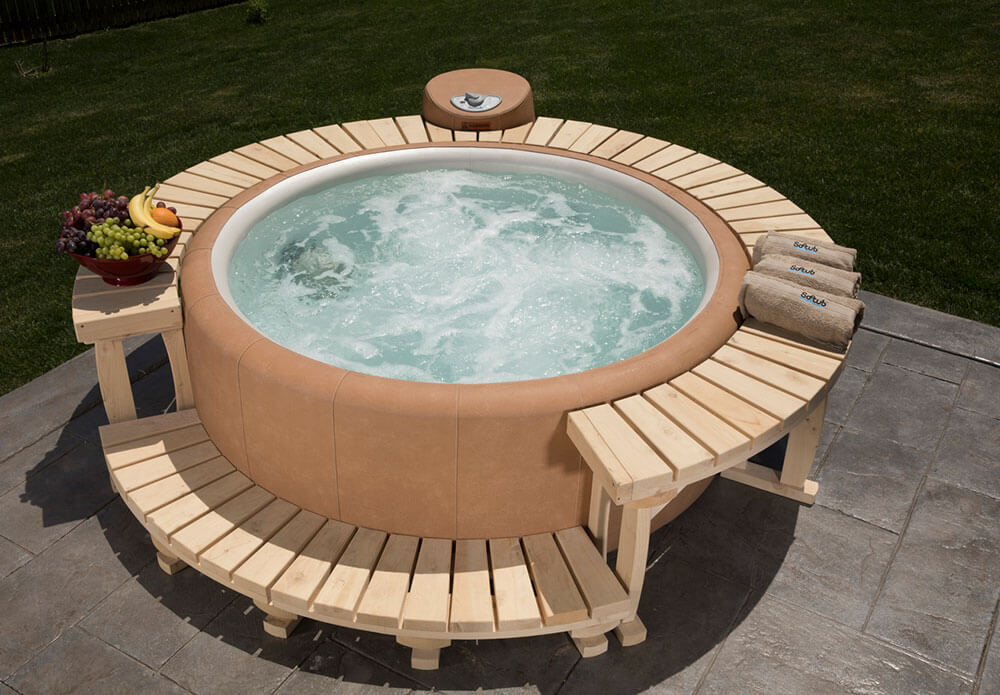 Northwestern Cedar Full Surround Deck