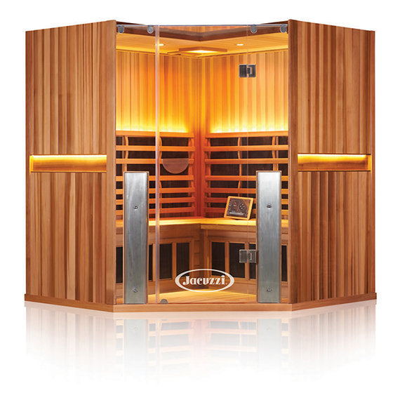 CLEARLIGHT SANCTUARY C - Full Spectrum Four Person Corner Infrared Sauna